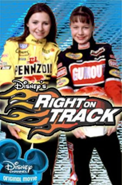 Affiche poster voie tracee right track disney channel