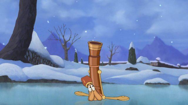 fifre fife personnage character belle bête 2 beauty beast noel enchanté christmas disney