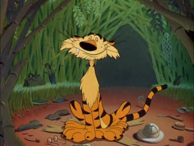 image chasse tigre tiger trouble dingo goofy disney