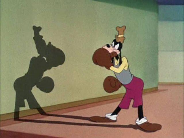 Image dingo champion boxe art self defense goofy disney