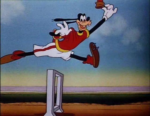 Image dingo champion olympique champ goofy disney