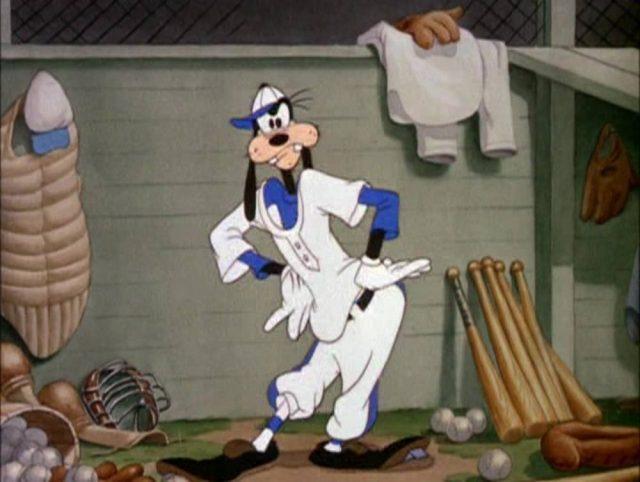 image dingo goofy joue baseball how play disney