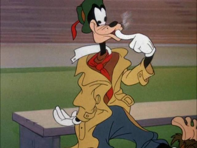 image dingo goofy joue how play football disney
