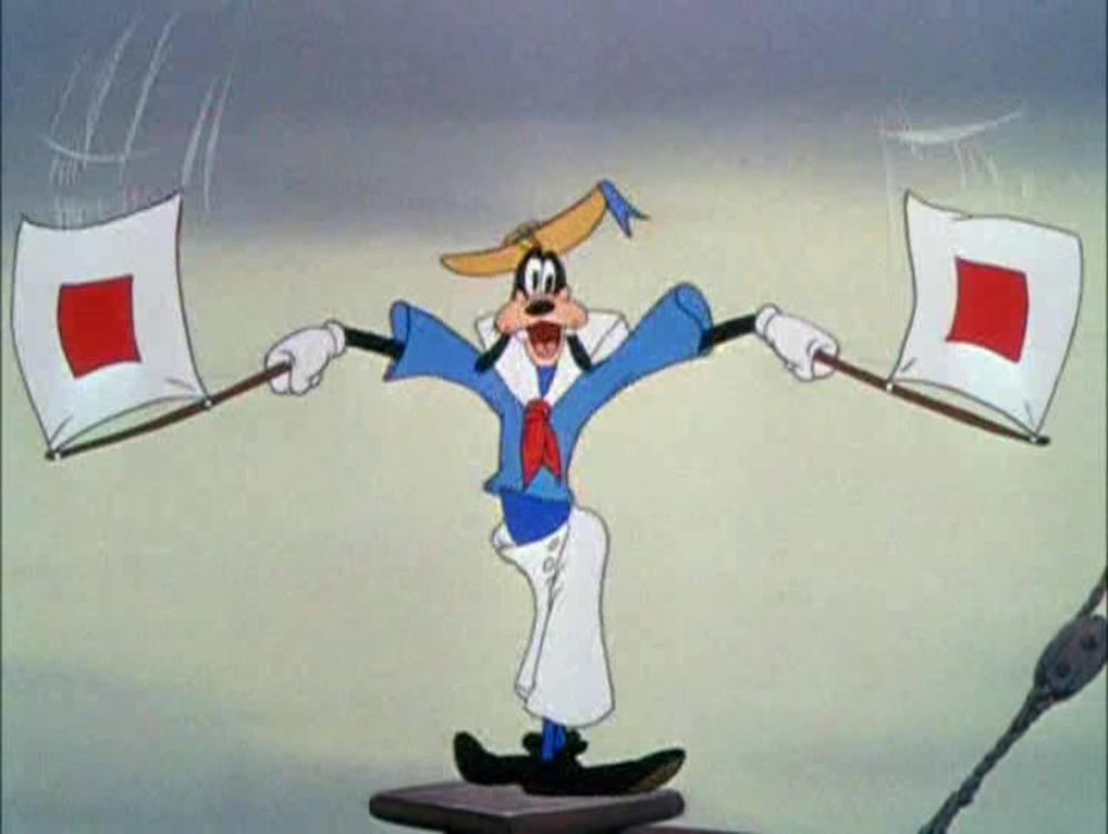 image pour être bon marin how sailor disney dingo goofy