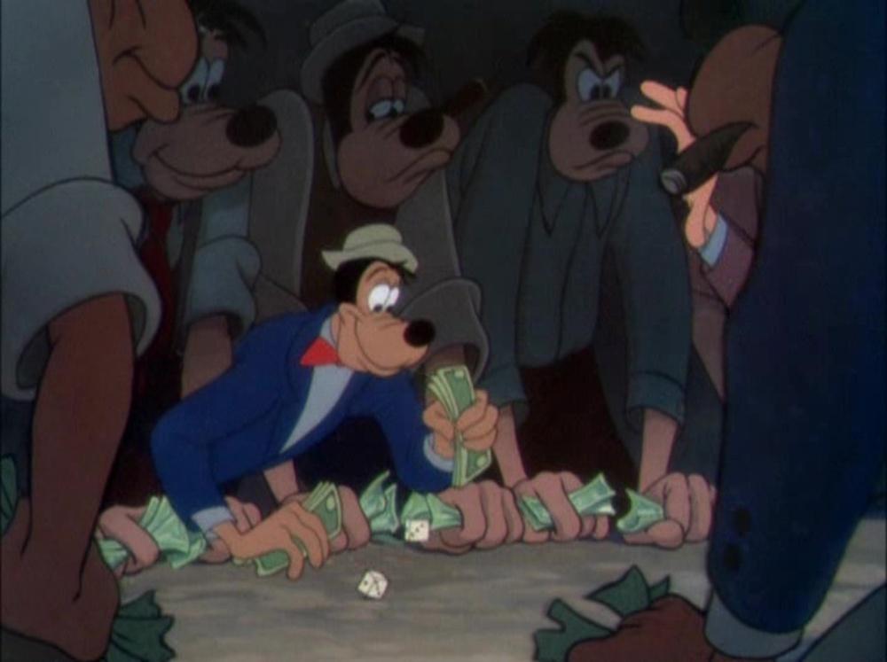 image vive fortune get rich quick dingo goofy disney