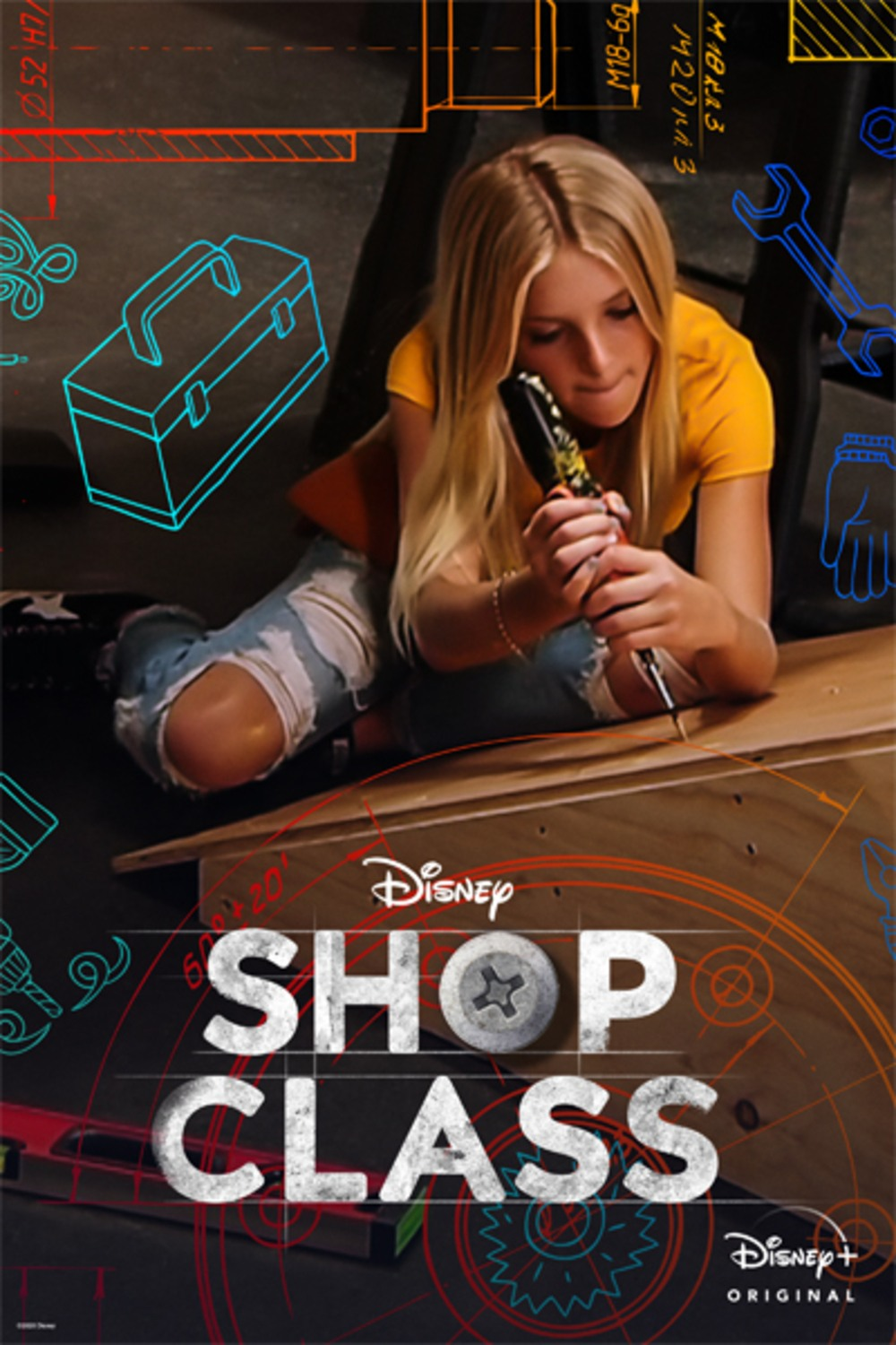 affiche poster atelier justin shop class disney plus