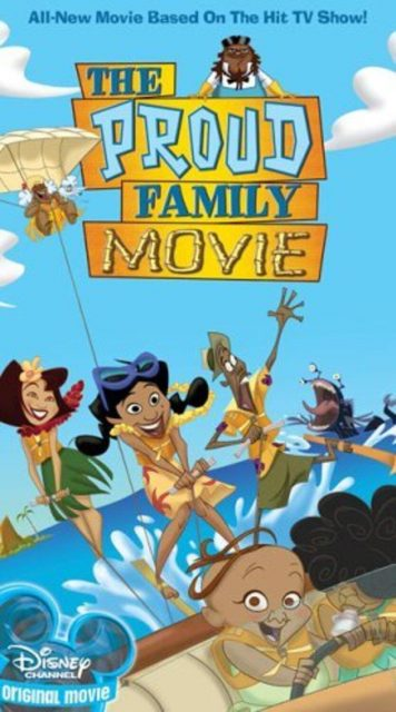 affiche poster cool attitude film proud family movie disney channel