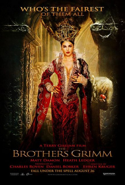 affiche poster frères brothers grimm disney dimension