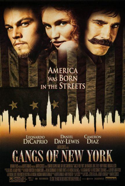 affiche poster gangs new york disney miramax