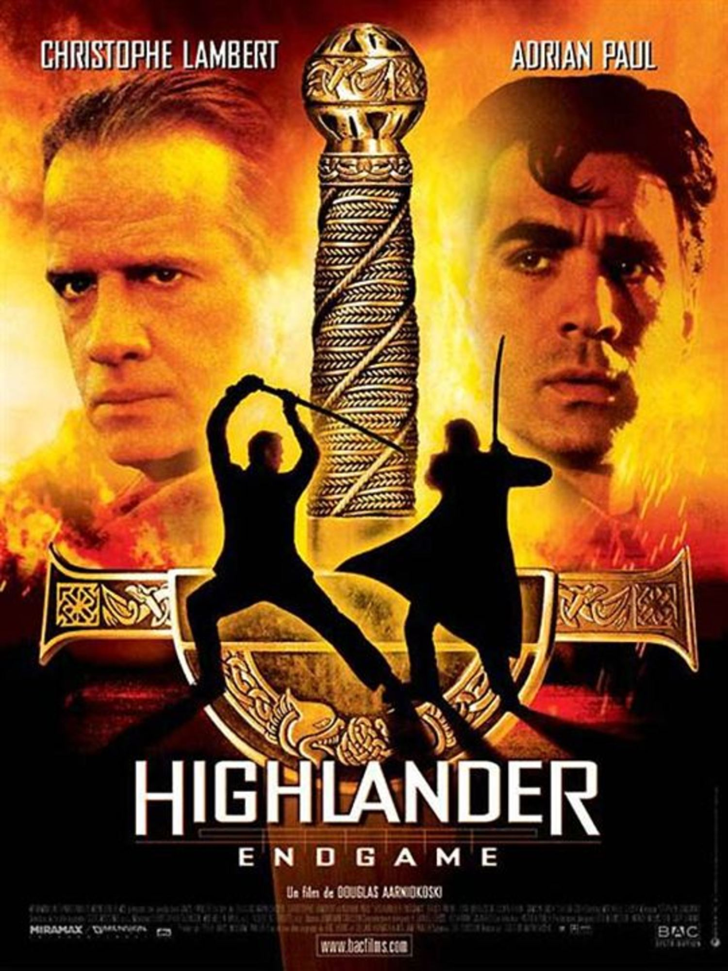 affiche poster highlander endgame disney dimension