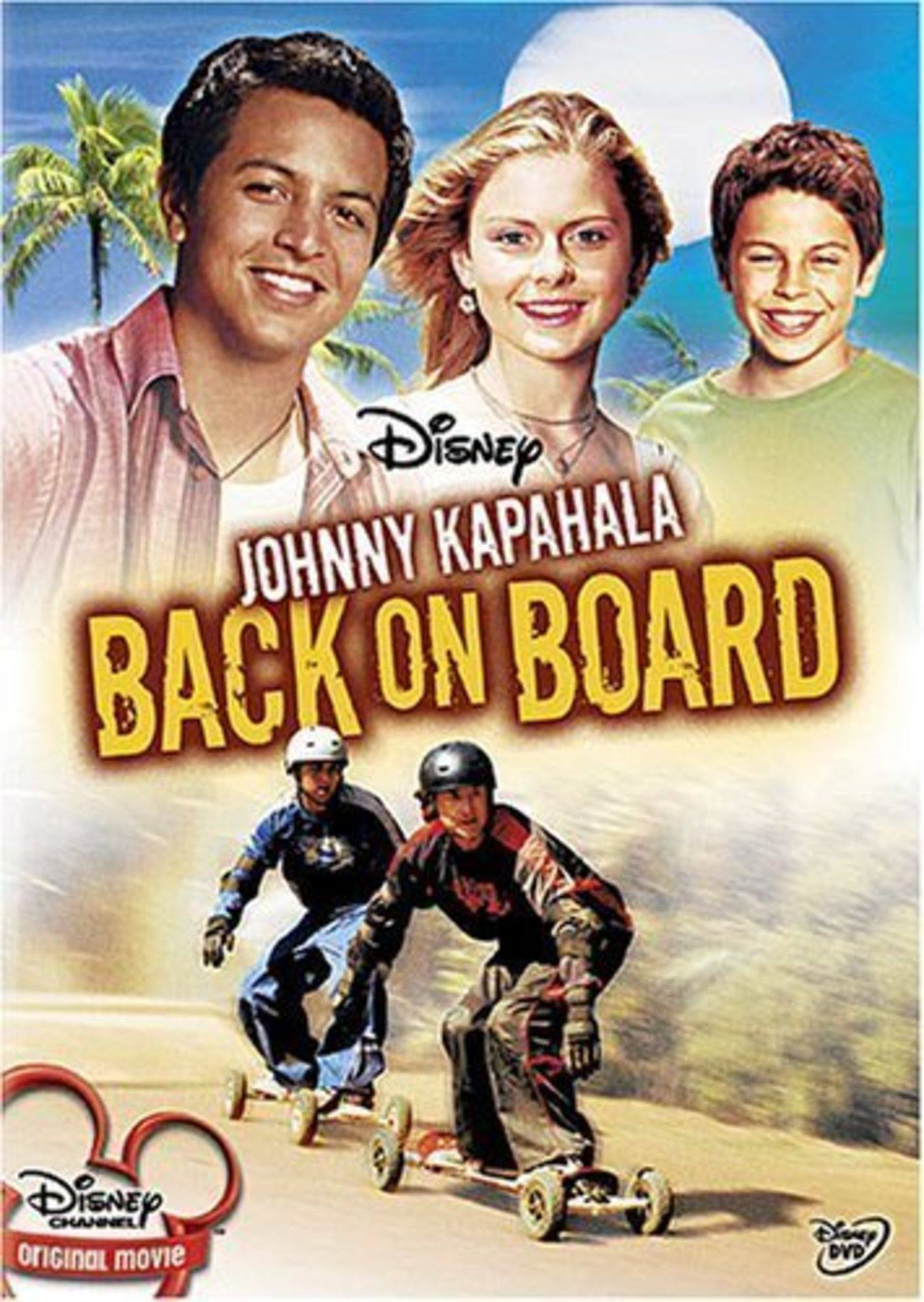 affiche johnny kapahala back board disney channel