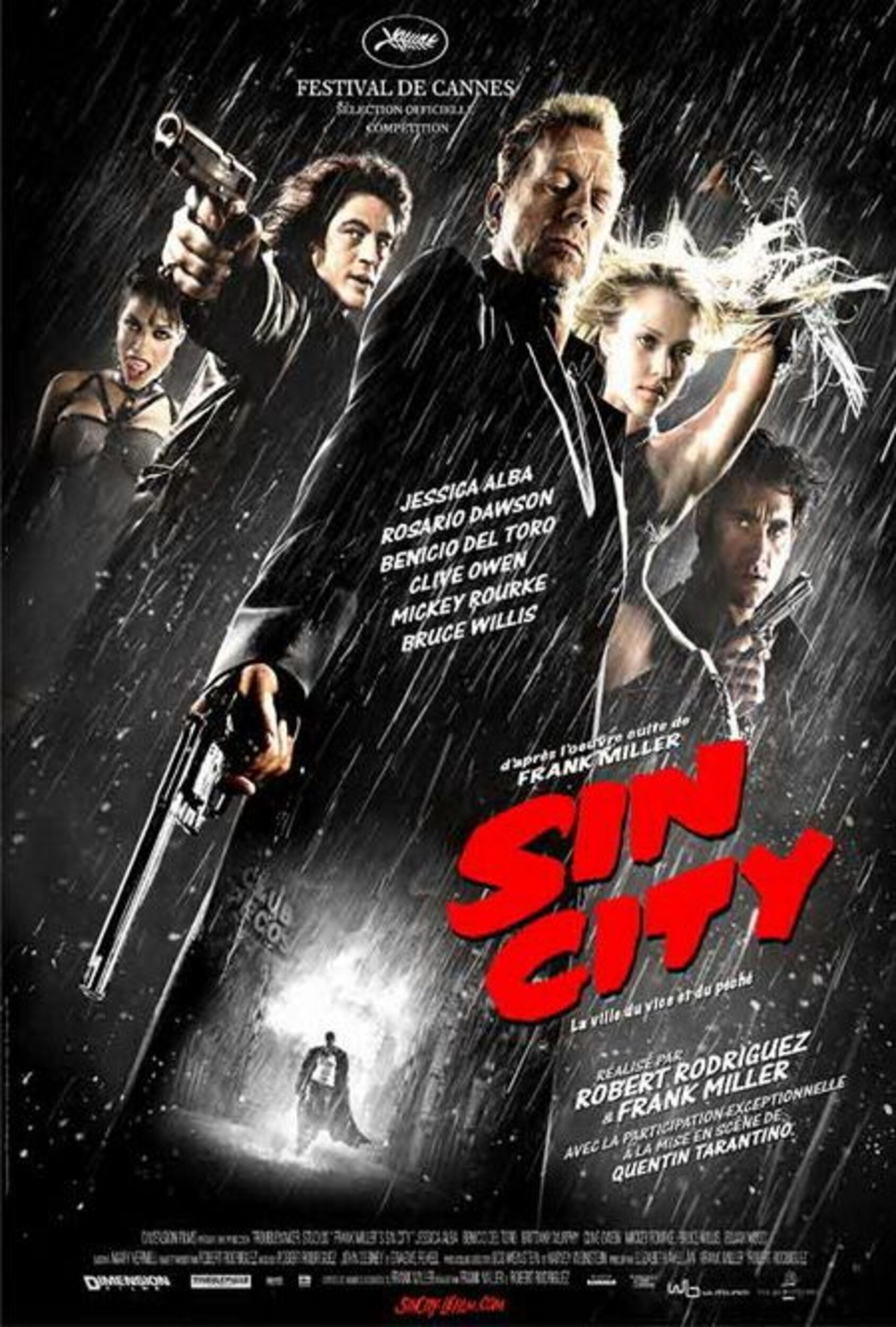 affiche poster sin city disney dimension