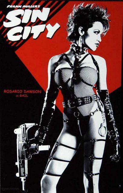 affiche poster sin city disney dimension