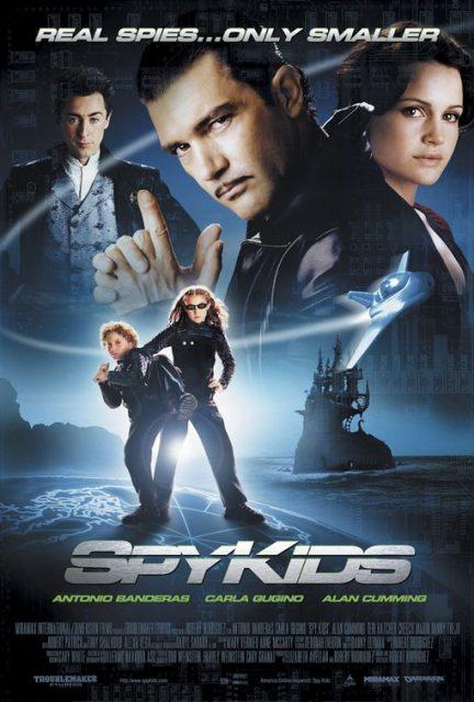 affiche poster spy kids disney dimension