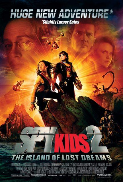 affiche poster spy kids 2 espions herbe island lost dreams disney dimension