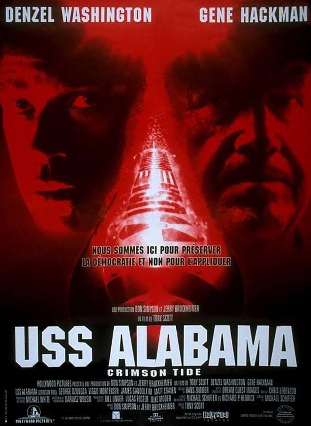 affiche poster uss alabama crimson tide disney hollywood