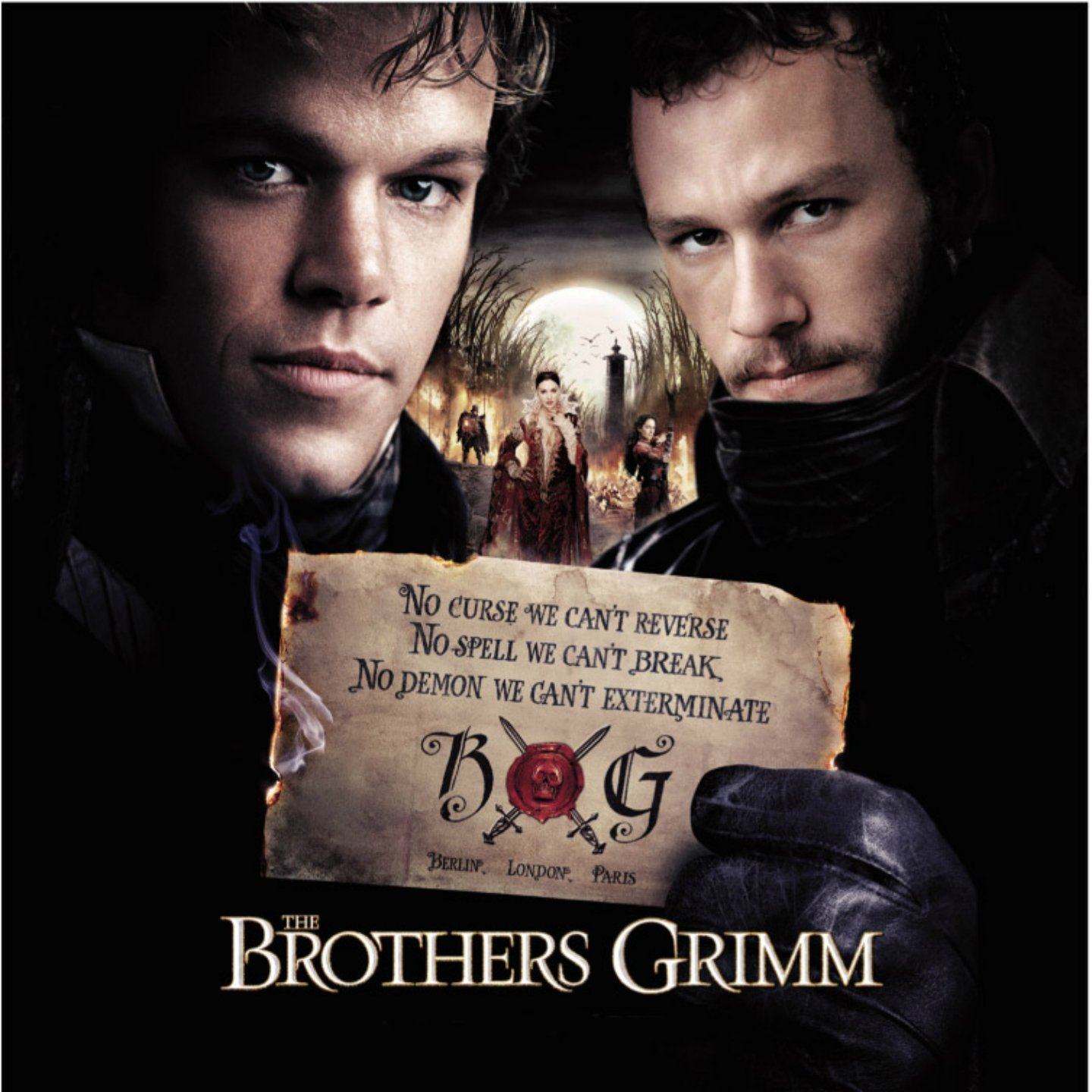 bande originale soundtrack ost score frères brothers grimm disney dimension