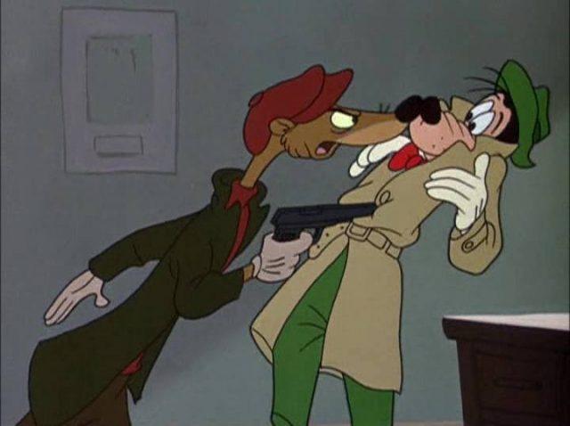 image dingo detective how disney goofy