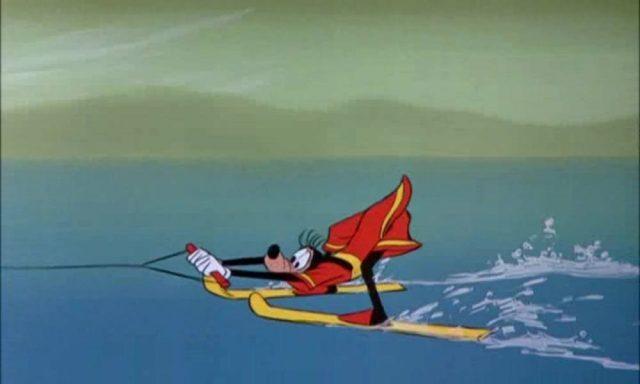 image fait natation aquamania dingo goofy disney