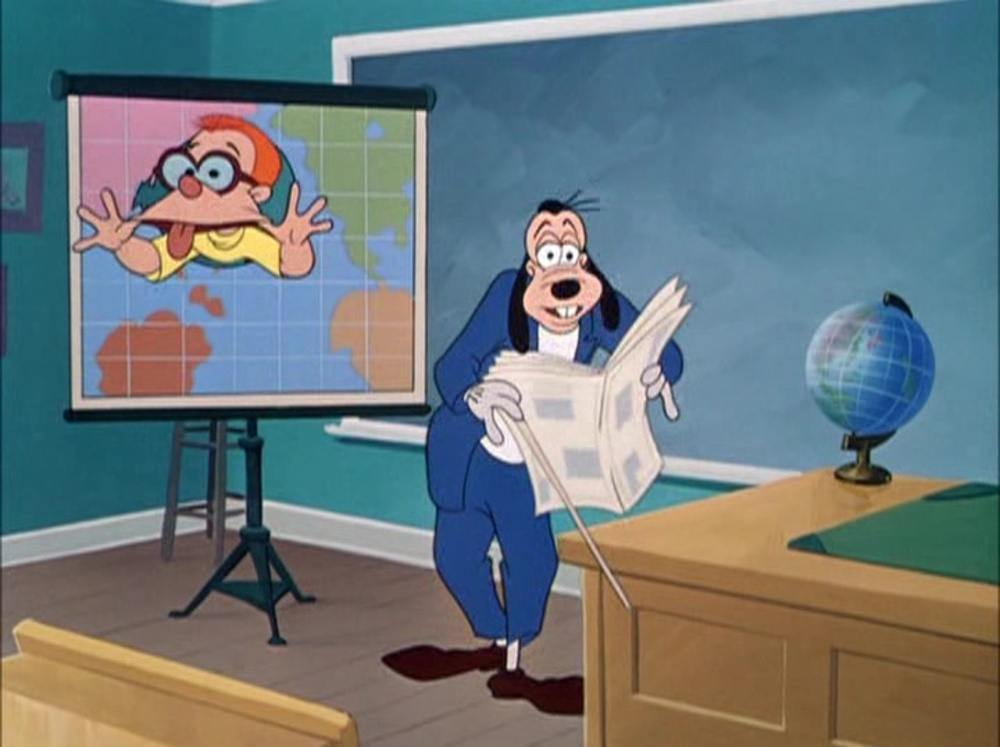 image dingo professeur teachers people goofy disney