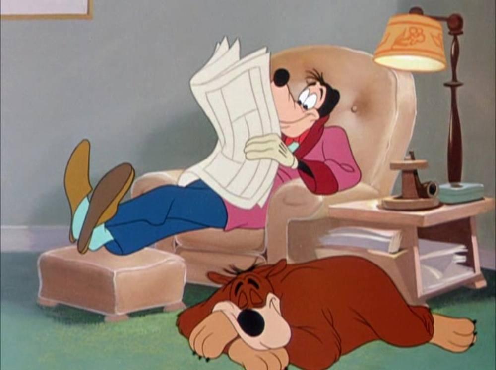 image tout doux toutou man best friend dingo goofy disney