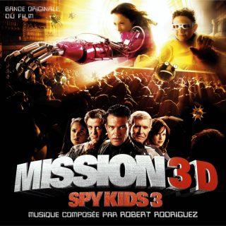 bande originale soundtrack ost score spy kids 3 mission 3d game over disney dimension