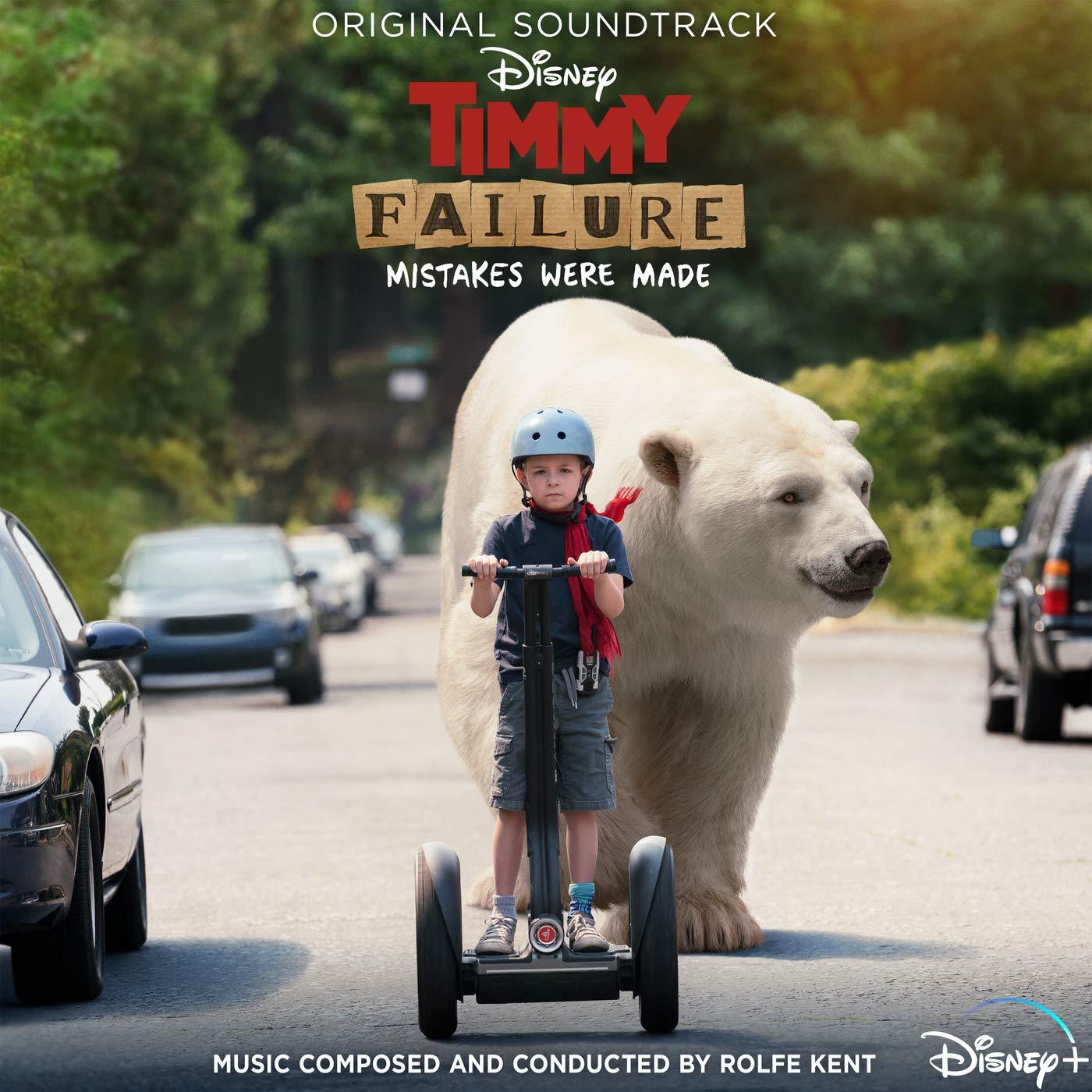bande originale soundtrack ost score timmy failure mistakes were made disney+ plus
