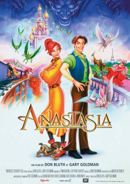 affiche poster anastasia disney fox
