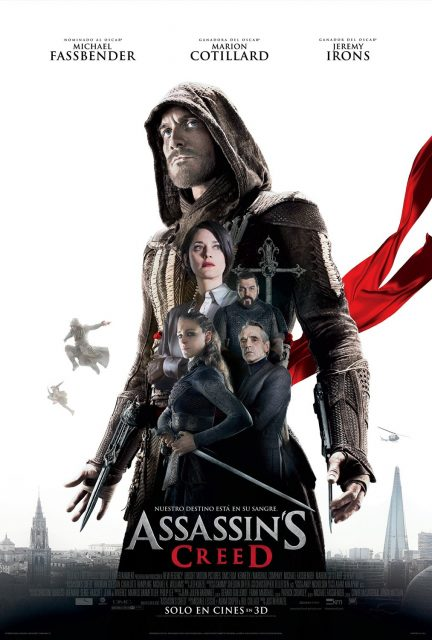 affiche poster assassin creed disney fox