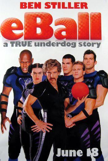 affiche poster dodgeball même pas mal disney fox