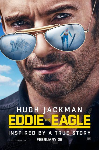 affiche poster eddie eagle disney fox