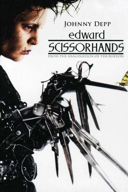affiche poster edward mains argent Scissorhands disney fox