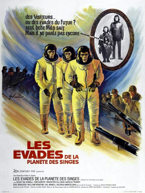 affiche poster évadés planète singes escape planet apes disney fox