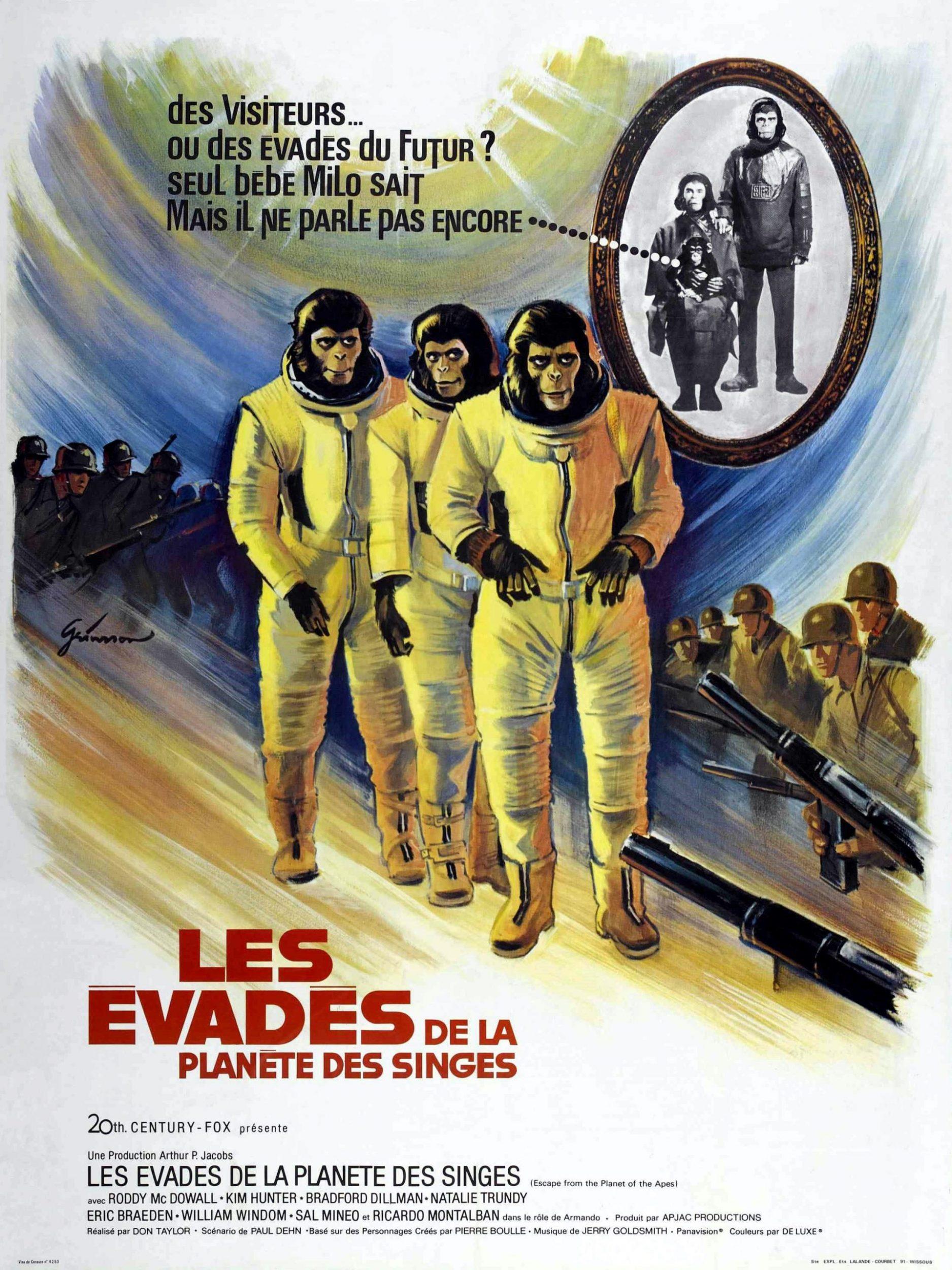 affiche poster évadés planète singes escape planet apes disney fox