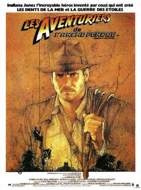 affiche poster indiana jones aventuriers arche perdue raiders lost ark disney lucasfilm