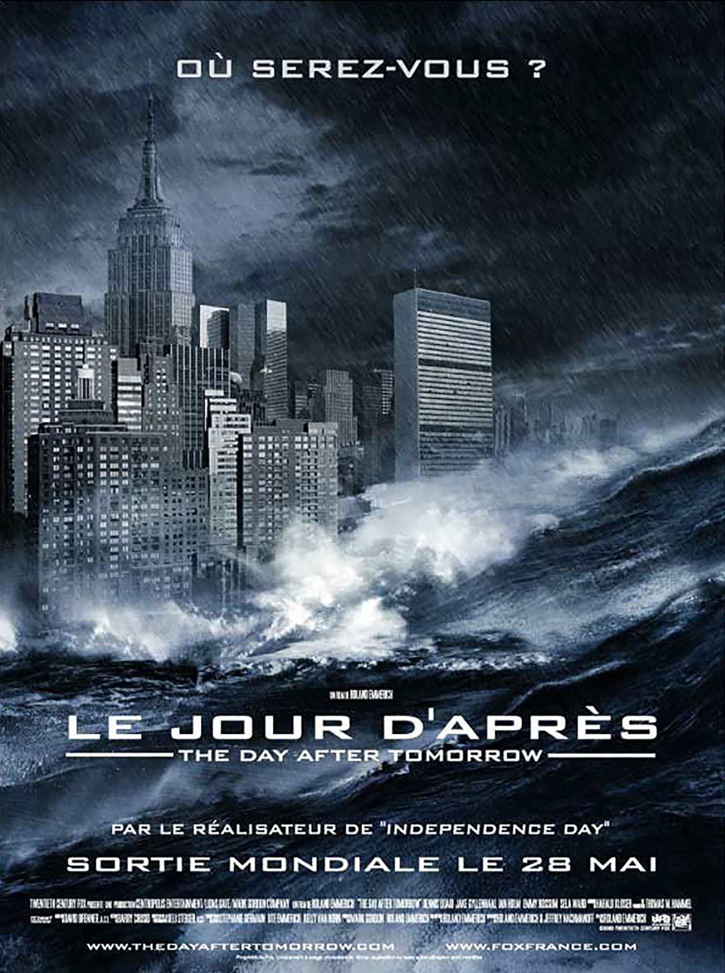 affiche poster jour apres day after tomorrow disney fox