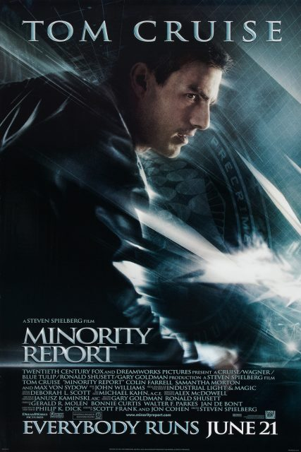 affiche poster minority report disney fox