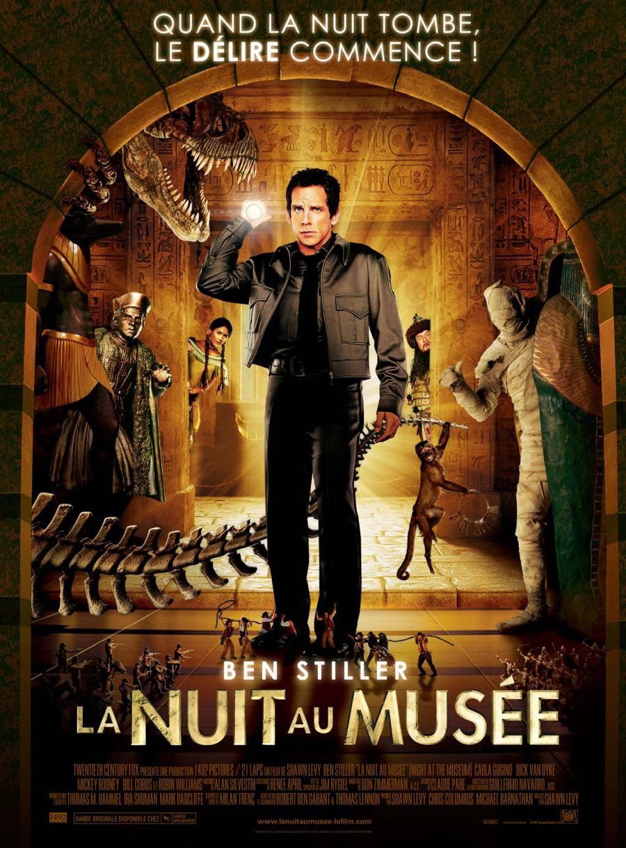 affiche poster nuit musée night museum disney fox