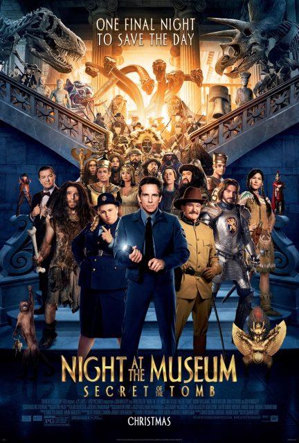 affiche poster nuit musée secret pharaons tomb night museum disney fox