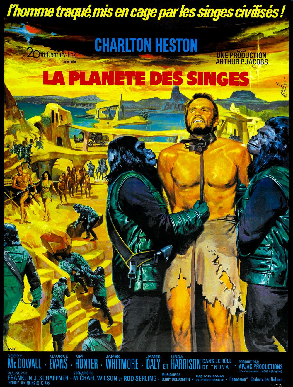 affiche poster planète singes planet apes disney fox