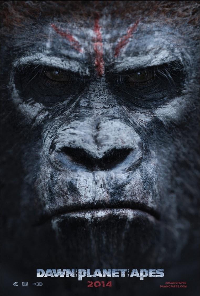 affiche poster planète singes affrontement daw planet apes disney fox