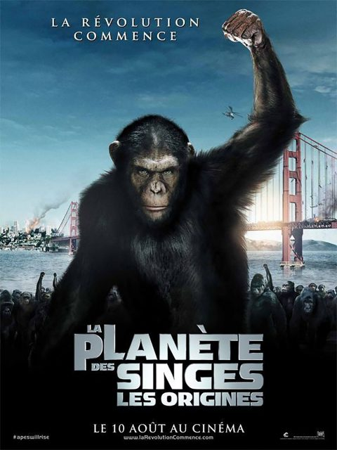 affiche poster planete singes origines rise planet apes disney fox