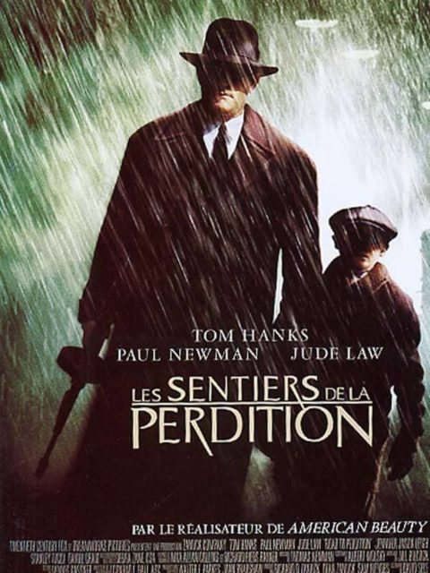 affiche poster sentiers road perdition disney fox