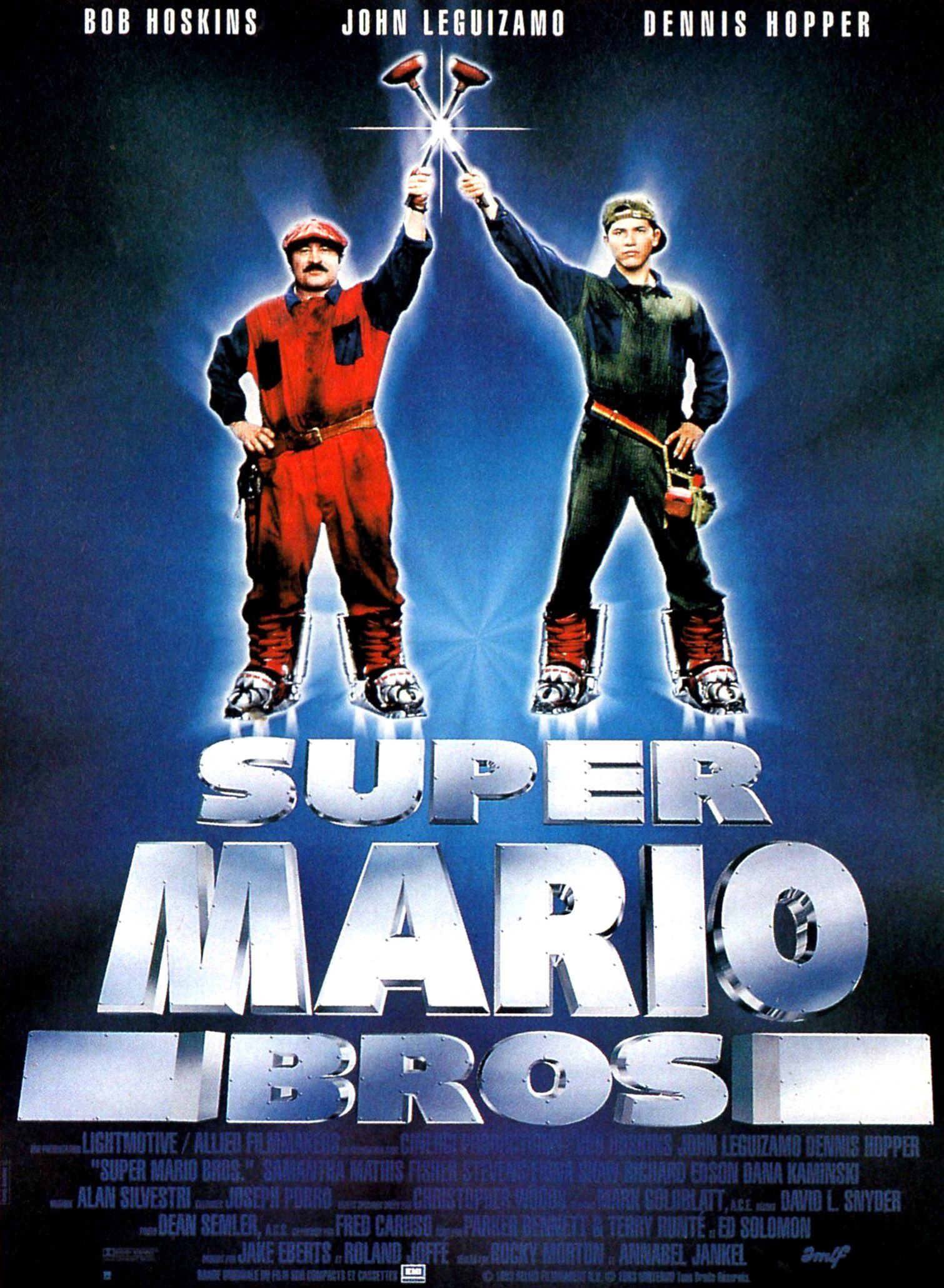 affiche poster super mario bros disney hollywood