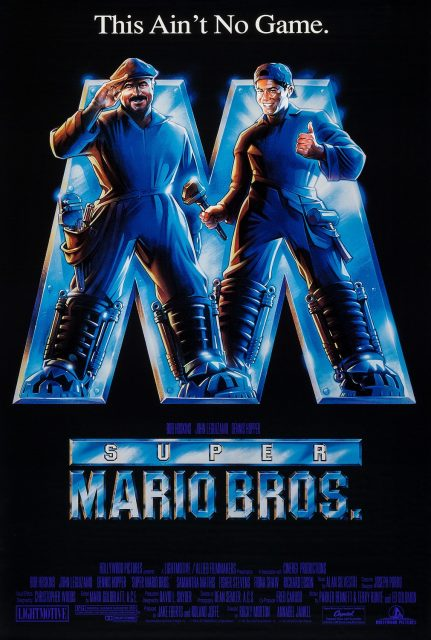 affiche poster super mario bros disney hollywood