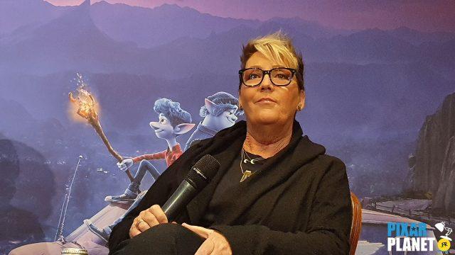 conférence presse avant onward disney pixar dan scanlon korie rae