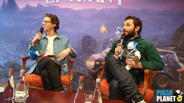conférence presse avant onward disney pixar Thomas Soliveres Pio Marmai