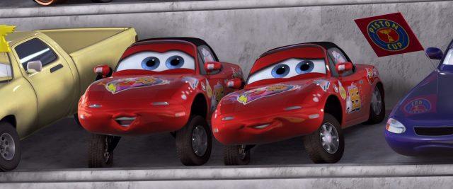mia tia personnage character cars disney pixar