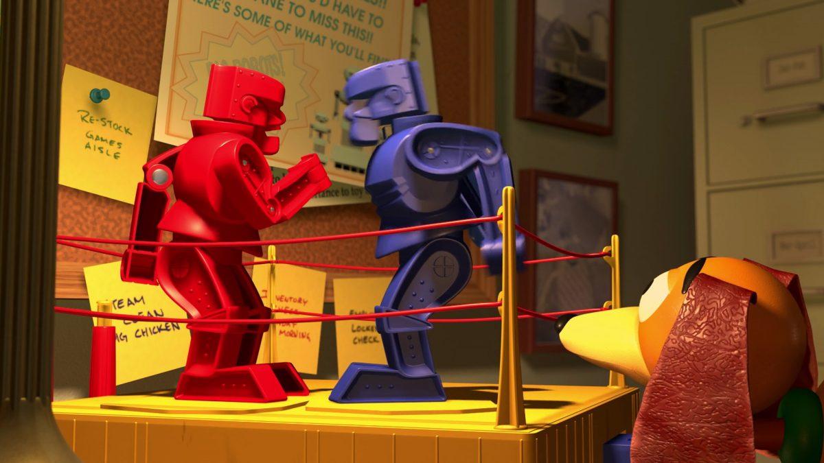 rock em sock em robots personnage character disney pixar