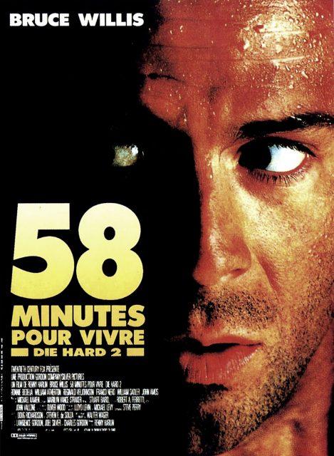 affiche poster 58 minutes vivre die hard disney fox